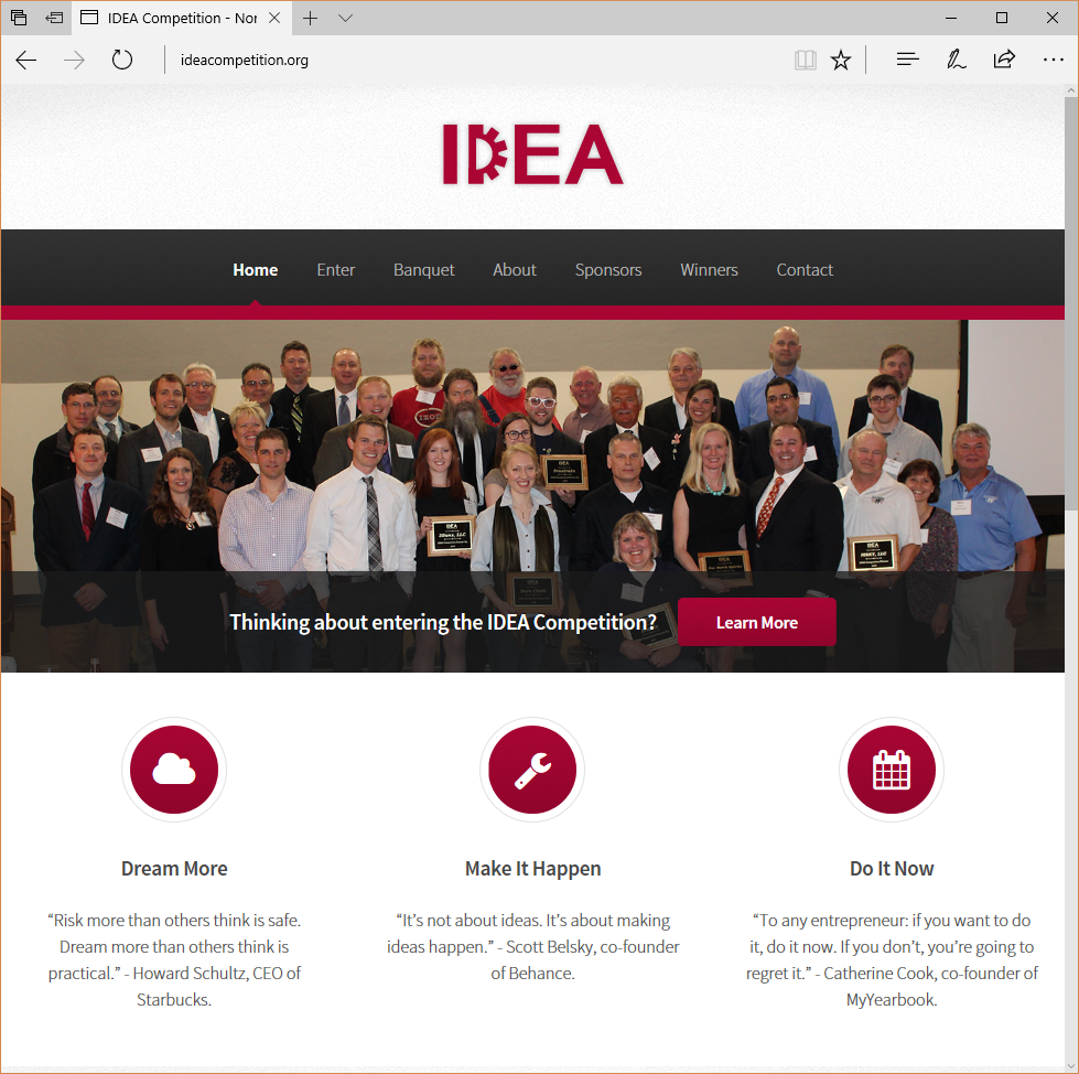 IDEA Competition Website