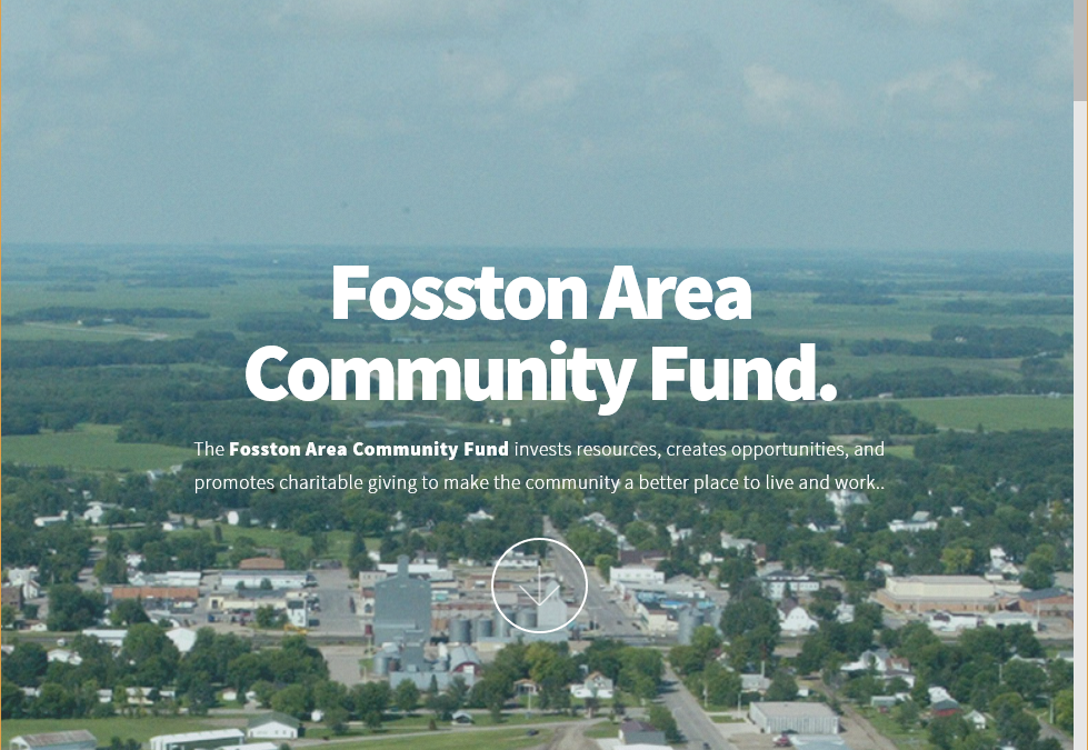 Fosston Area Community Fund Website